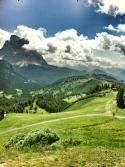 Dalla nostra terrazza, il Monte Pelmo