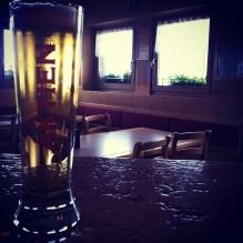 Una birra fresca dopo la fatica!
